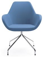 Fan Sessel 10H - Spinnenfuß - Stoffbezug