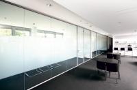 Glastrennwand für Büro- und Objekteinrichtung...
