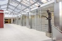 Glastrennwand für Büro und Objekteinrichtung...