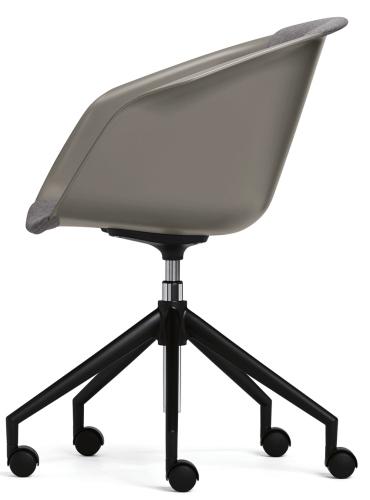 Sedus on spot - us-201 - Drehstuhl/Besucherstuhl - Sitz- und Rückenlehne gepolstert -  Gestell mit Rollen