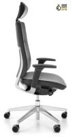 PROFIm - Violle 131 SFL - Chefsessel mit Lederbezug - Polsterrückenlehne - Nackenstütze