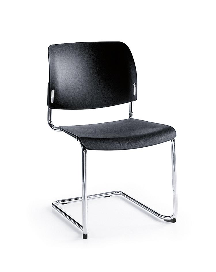 PROFIm Bit 550V Sitz und Rücken Kunststoff schwarz