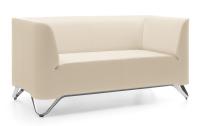 Profim stilvolles 2-Sitzer-Sofa Softbox 21 - Stoffbezug