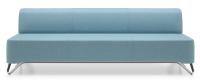 Profim 3-Sitzer-Sofa ohne Armlehnen Softbox 3B - Stoffbezug