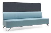 Profim Softbox 3BW - 3-Sitzer-Sofa mit Trennwand -...