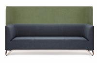 Profim 3-Sitzer-Sofa Softbox 31W mit Trennwand - Stoffbezug