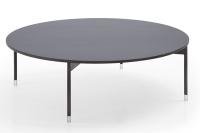 Profim -  Chic - CR40 - Rundtisch - niedrig - Durchmesser 800 mm