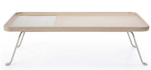 Profim - October - S1 - Tisch - mit Milchglasausschnitt - Breite 1200 mm