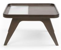 Profim - October - S2 - Tisch - mit Milchglasausschnitt - Breite 600mm