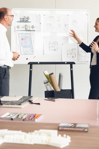 Sedus se:lab - beidseitig magnetisches und beschreibbares Board