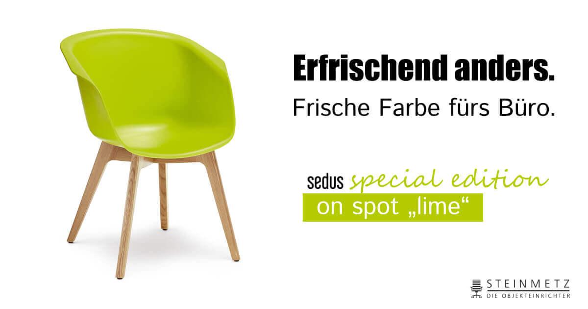 Sedus on spot lime – Special Edition - Steinmetz Einrichtungen