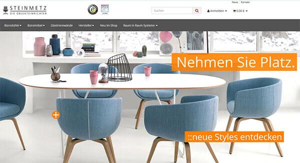 Onlineshop für Büromöbel