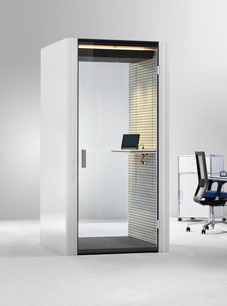 Telefonzelle Büro