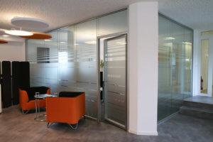 Doppelverglaste Büroglastrennwand