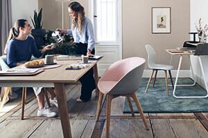 Ergonomische Büromöbel für Home Office