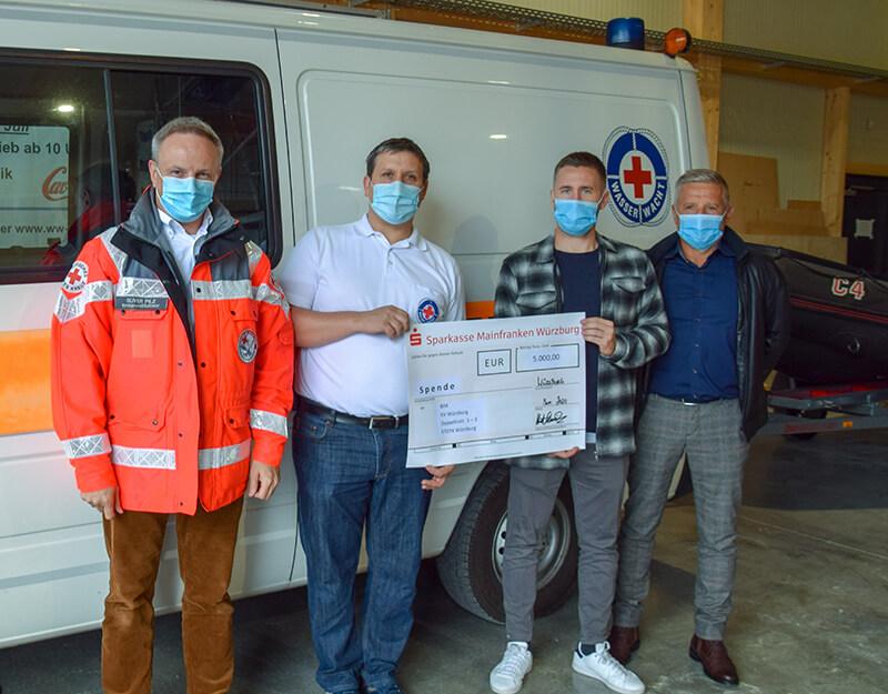 Spendenaktion BRK Wasserwacht