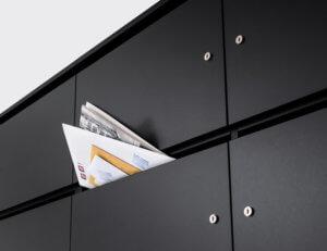 Lockerschrank Briefschlitz